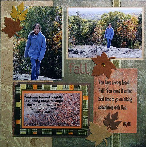 Weave Ribbon to Add Texture to a Photo or Journaling Mat
