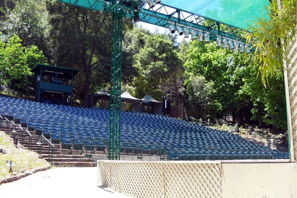 Garden Theatre Seating at Villa Montalvo
