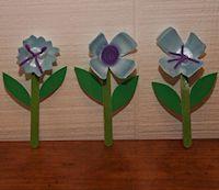 Egg Carton Bouquet Craft