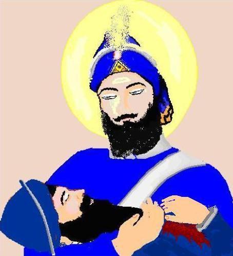 Guru Gobind Singh at Battle of Muktsar