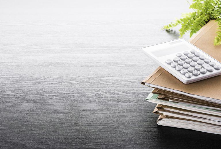 Accounting tools.