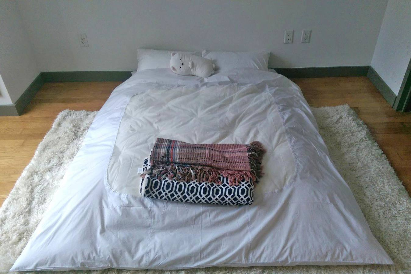 size comfortable is sleeping to your mattress comfy how a floor help cot of bed frames decorate comforter low on full comfortably back the ideas sleep make close ground bedroom