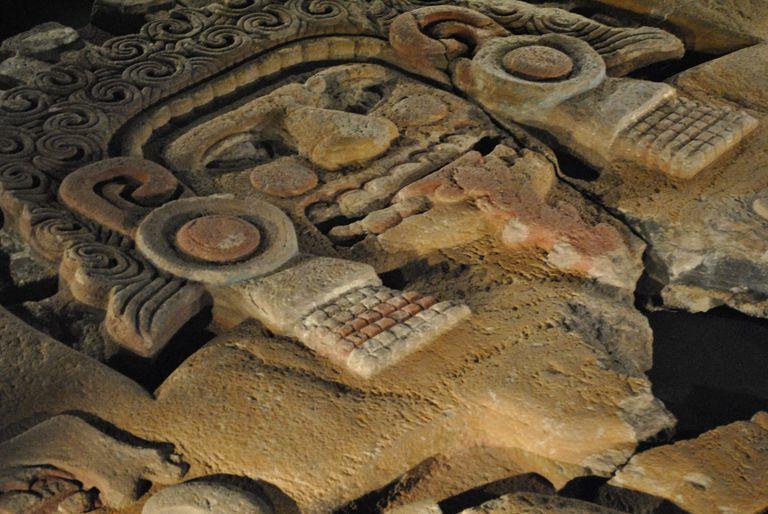 Tlaltecuhtli Scuplture, Templo Mayor, Mexico City
