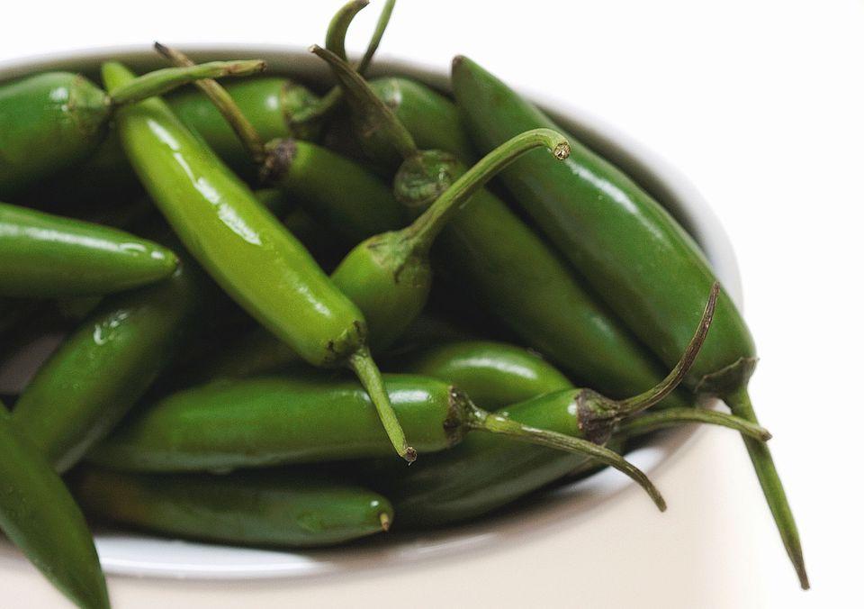 Serrano Chile Peppers
