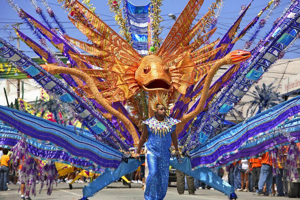 Trinidad and Tobago, Trinidad island, Port of Spain, carnival