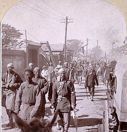 a look at the boxer uprising in china during the late nineteenth century Throw light on life in mid nineteenth-century china during the late 1860s, china was ruled by uprising by china's muslim minorities on.