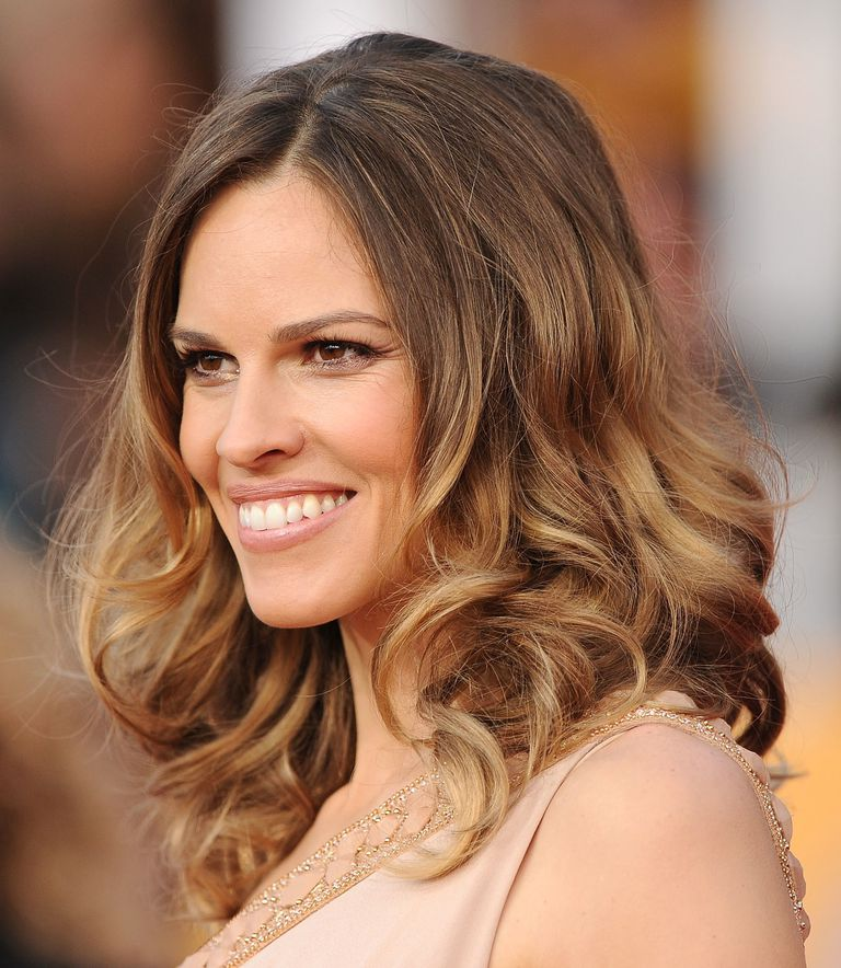 Brown hair the best colors for brunettes hilary swank pmusecretfo Images