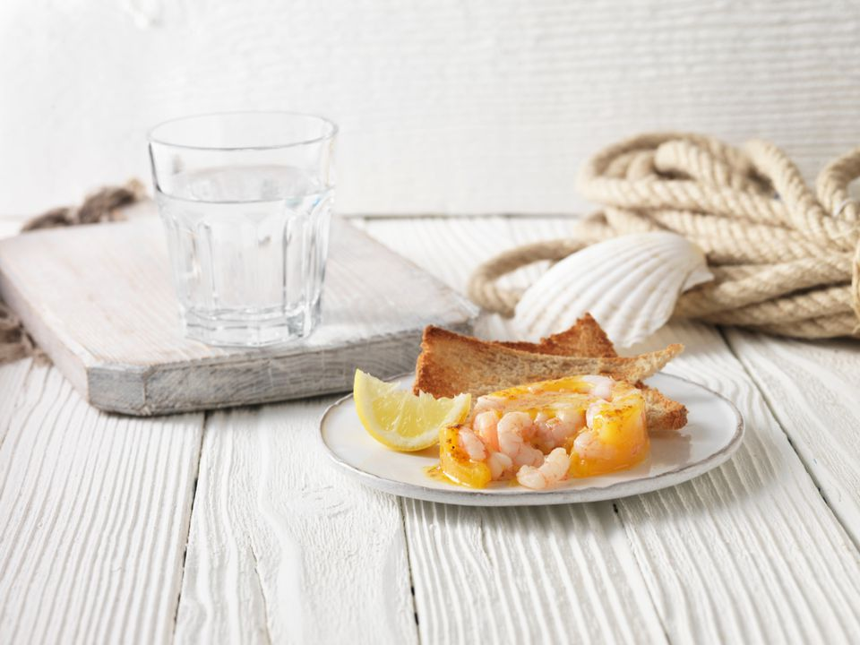 Potted Shrimp English British Appetizer