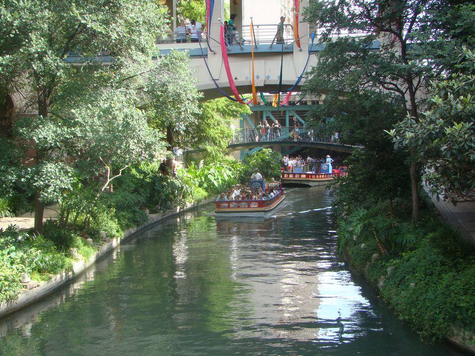 The famed Riverwalk is a must-see in San Antonio.