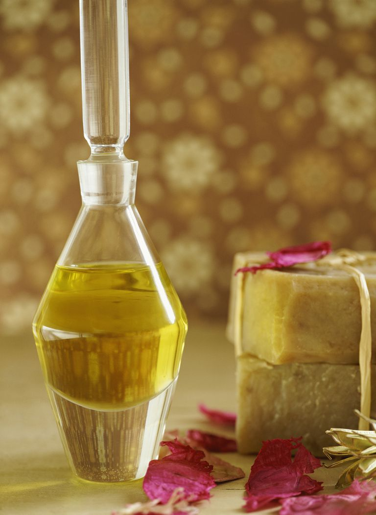 Bottle of Neem Oil and Soap