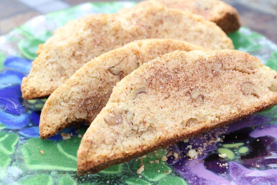 Walnut Mandel Bread