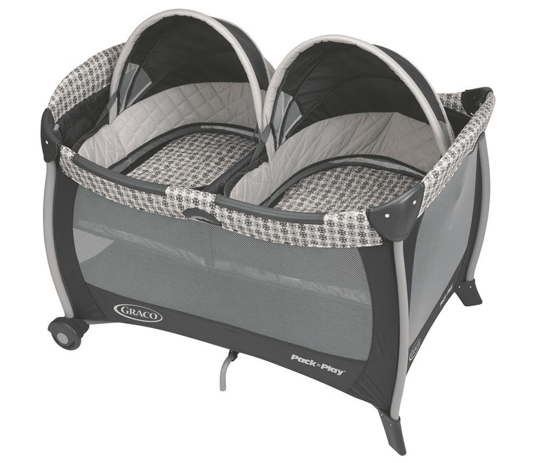 Graco Pack n Play with Twins Bassinet