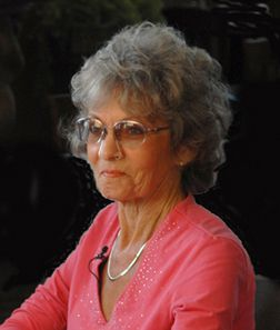 Oxy-View oxygen therapy glasses worn by a woman with COPD