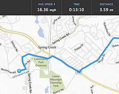 Garmin Edge 810 Real Time Tracking