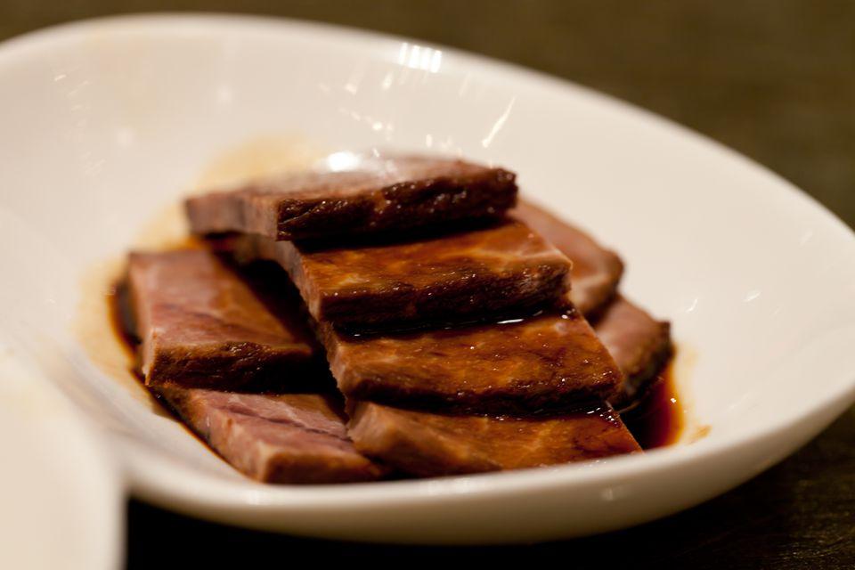 Sliced Chinese Ham