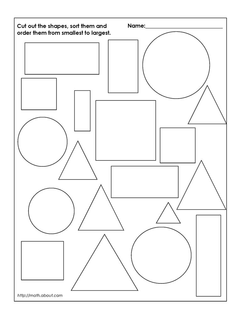 Geometry Worksheets for Students in 1st Grade – 1st Grade Geometry Worksheets