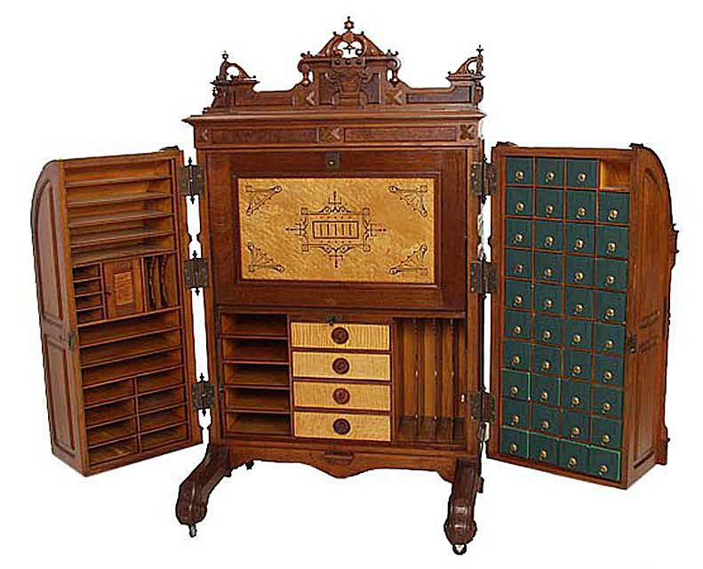 A Wooton Standard Grade desk, ca. 1875 - The Wooton Desk's Style, History And Significance