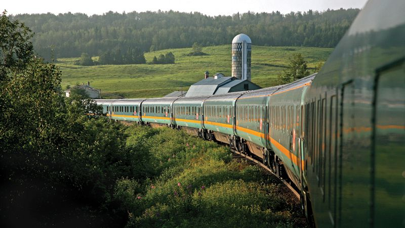 scenic train trips worth taking across canada. Black Bedroom Furniture Sets. Home Design Ideas