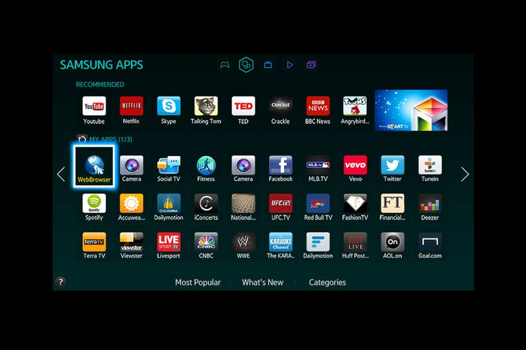 Samsung Apps Example