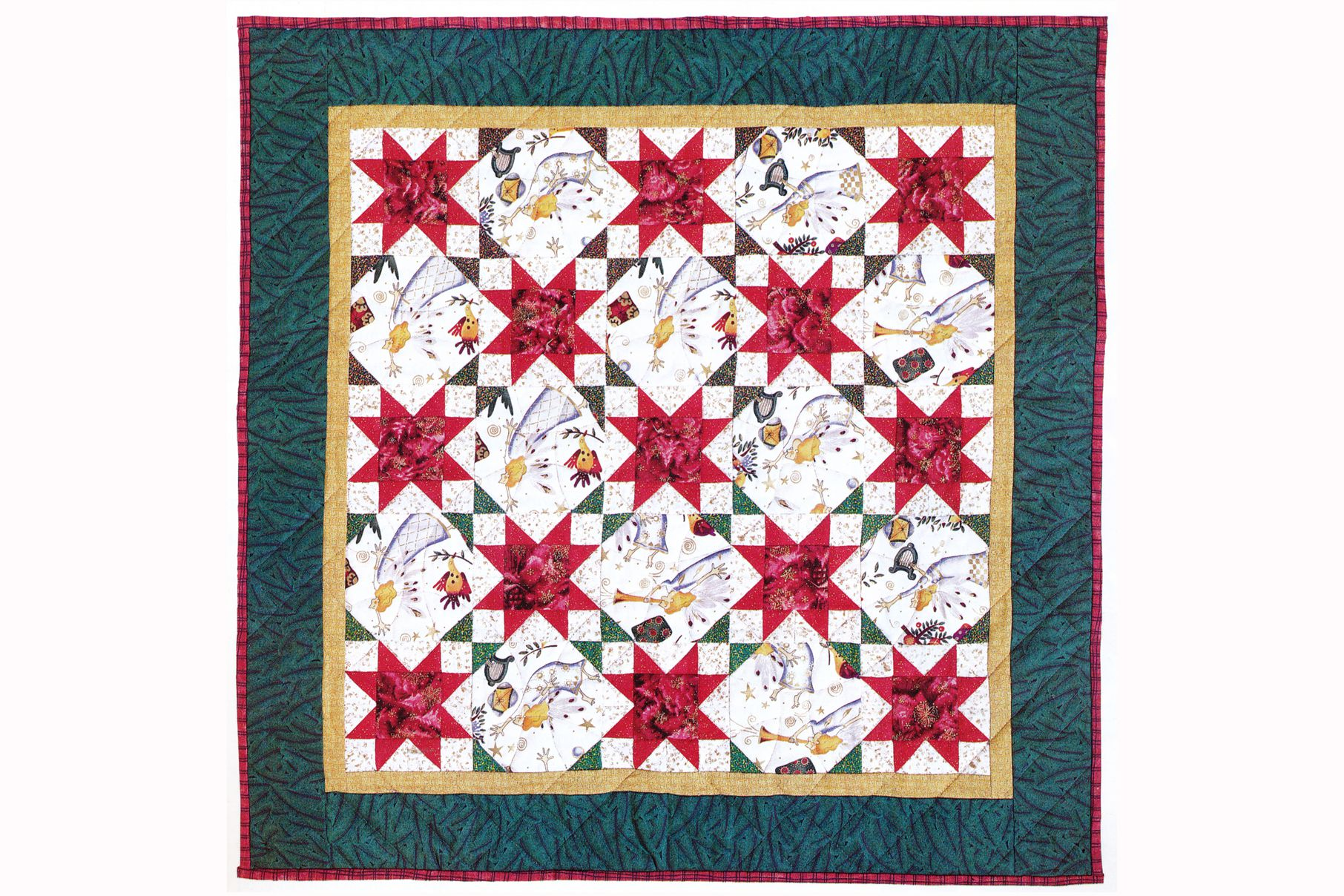 Easy Maple Leaf Quilt Pattern (Bed Size Quilt) : quilt leaf pattern - Adamdwight.com