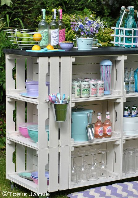 Wooden Crate Painting Ideas