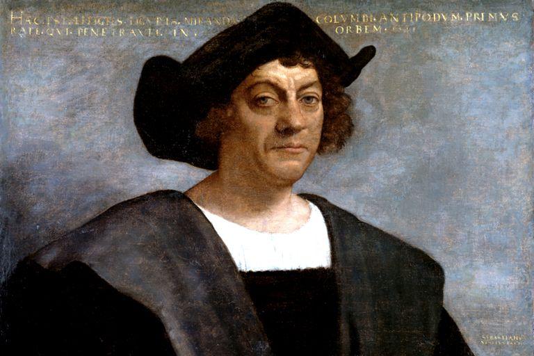 Posthumous portrait of Christopher Columbus by Sebastiano del Piombo, 1519.