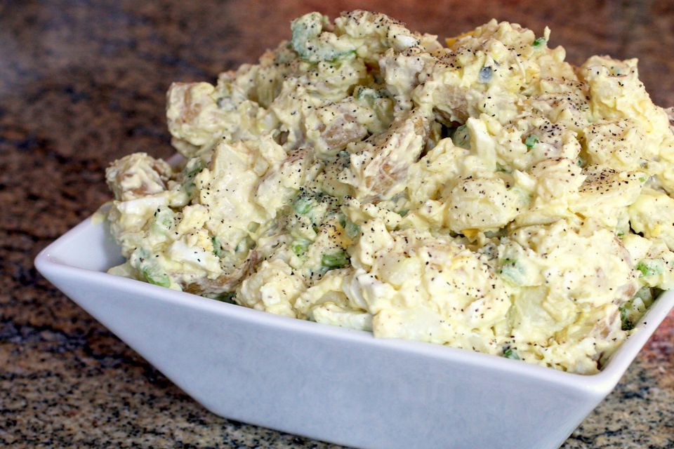 yukon gold potato salad