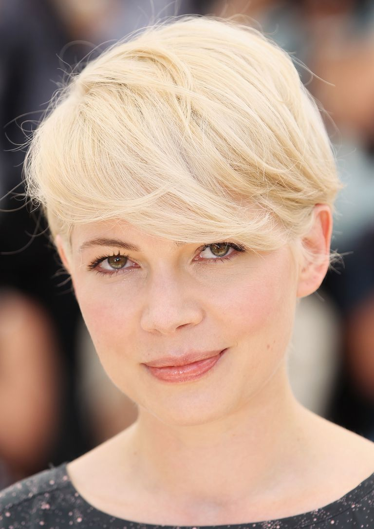 Sharon stone spiky short haircut for older women over 50 getty images - Michelle Williams Short Hair