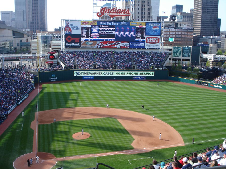 Indians baseball field