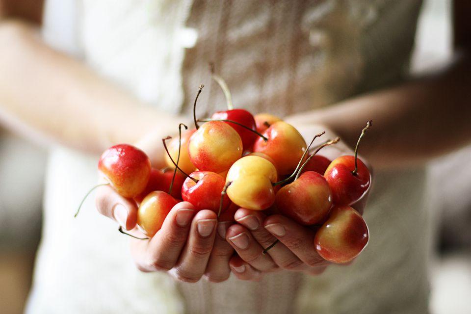 Fresh Yellow Cherries