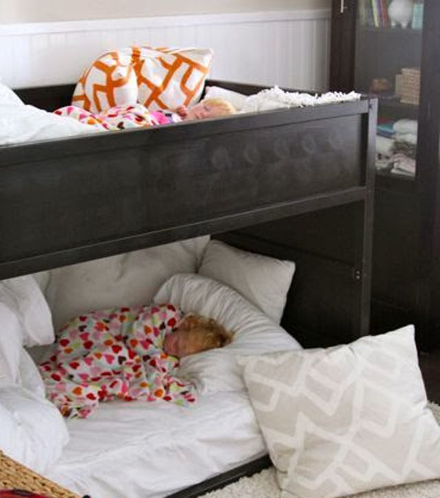 The IKEA KURA Toddler Bed
