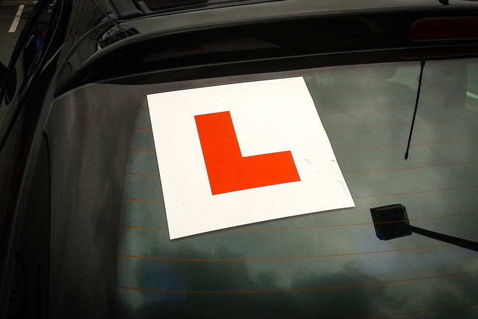 The Sign of the L-Driver - Beware and Take Extra Care
