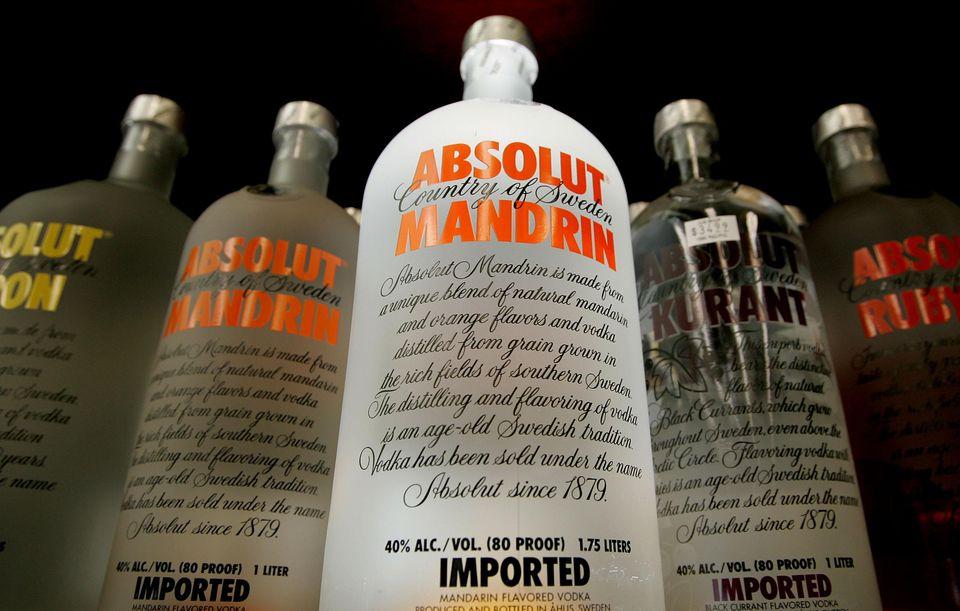 Absolut Vodkas