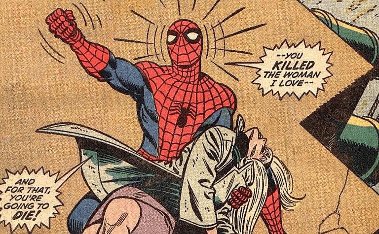 amazing spider man gwen stacy death