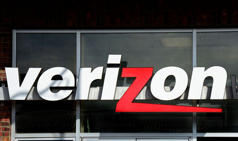 The entrance to a Verizon Wireless store in Santa Fe, New Mexico.