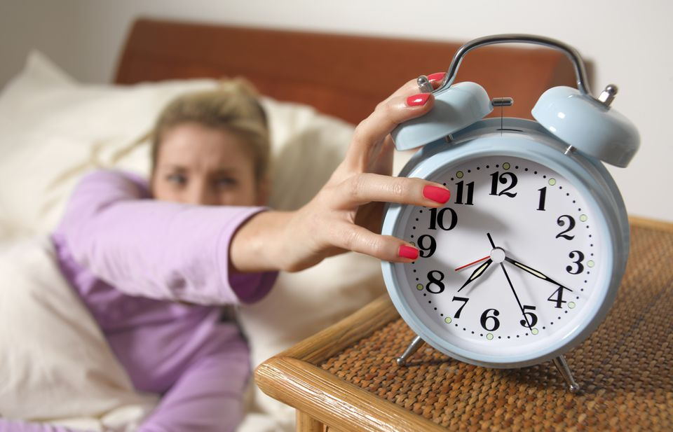 Woman who overslept