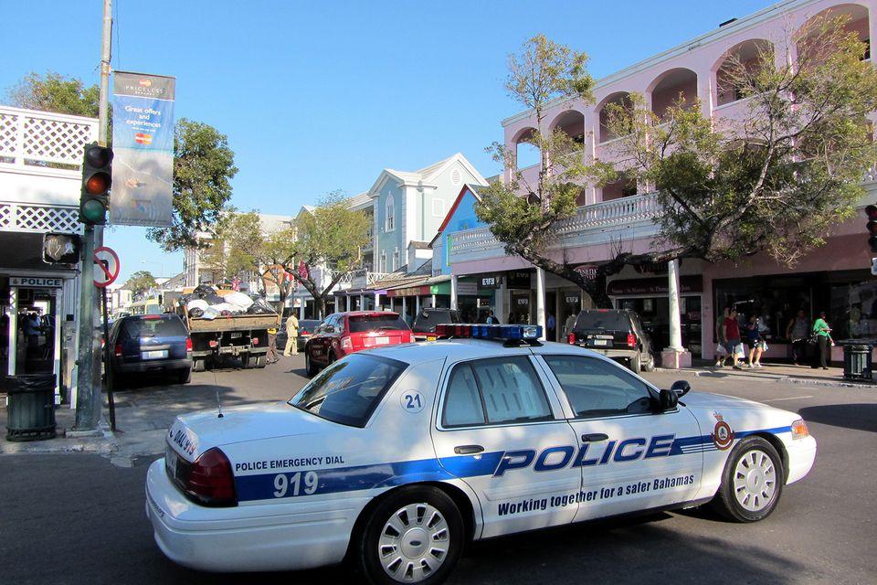Nassau Bahamas Police