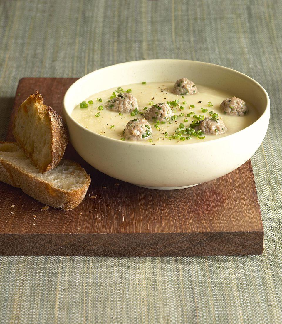 Crockpot Meatball and Potato Stew