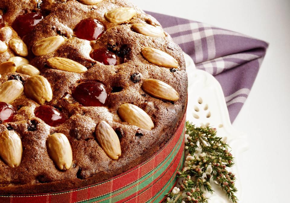 British Dundee Cake Recipe