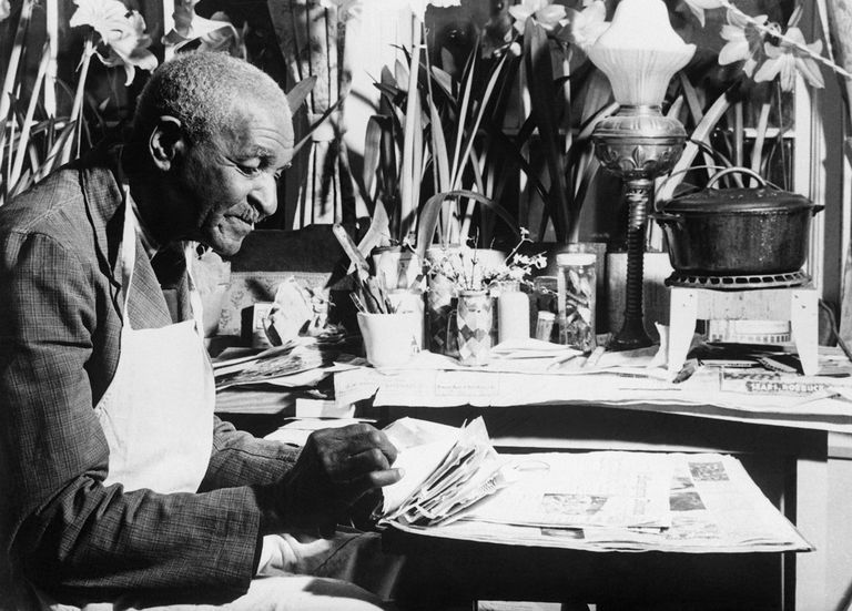 Botanist George Washington Carver donated $33,000 in cash to the Tuskegee Institute to establish a fund to carry on the agricultural and chemical work he began.