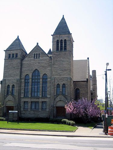 Euclid Avenue Congregational Church -- Cleveland Ohio