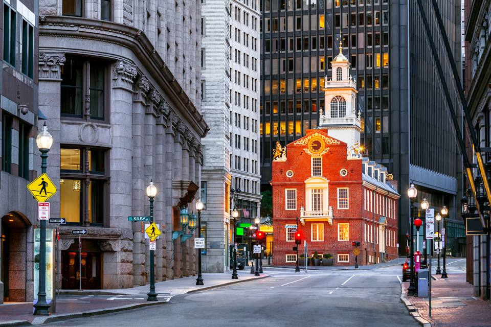 Charlestown Navy Yard, Bunker Hill Monument, USS Constitution, Boston, Massachusetts, America