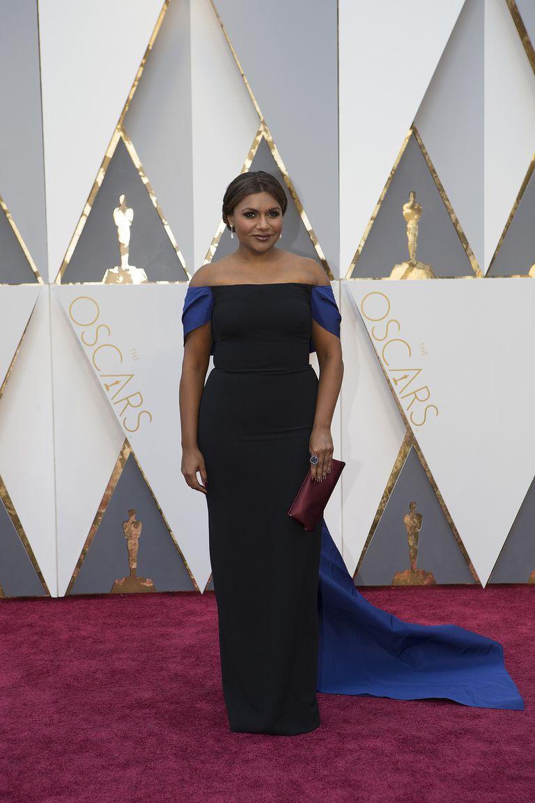 Mindy Kaling at the 2016 Oscars