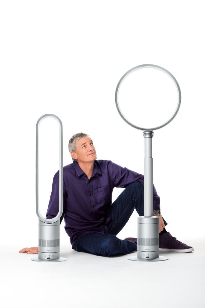 James Dyson unveils two new Air Multiplier machines