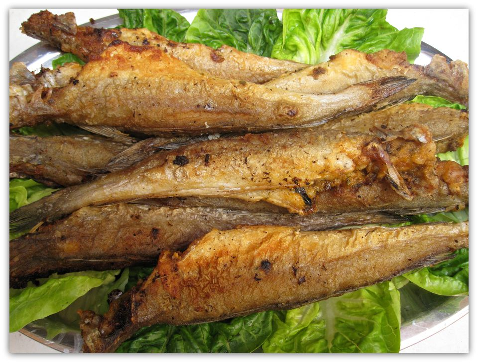 small fried whiting