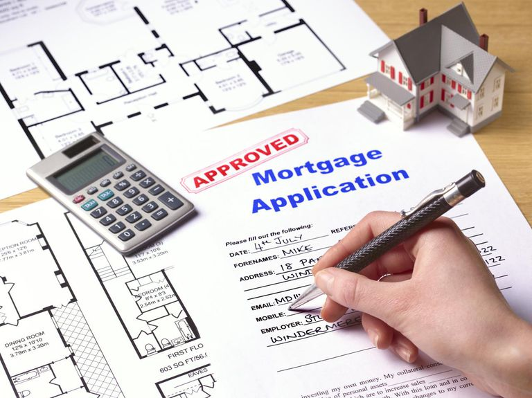 Approved mortgage application