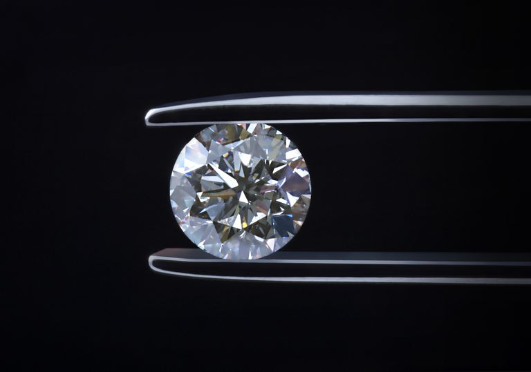 A diamond is an example of a pure substance. It has a homogenous composition.