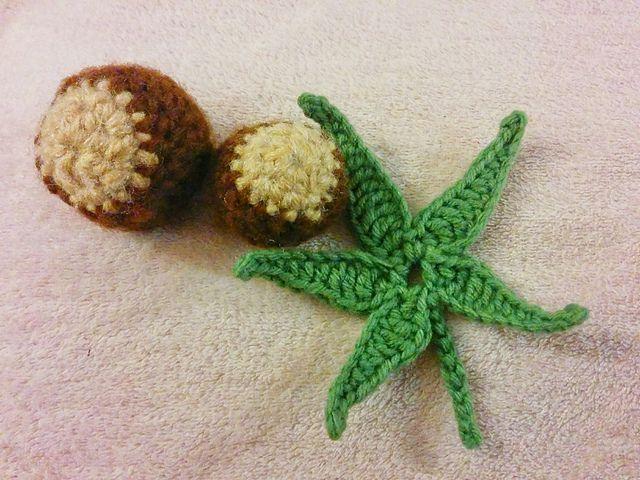 Buckeye Leaf Free Crochet Pattern