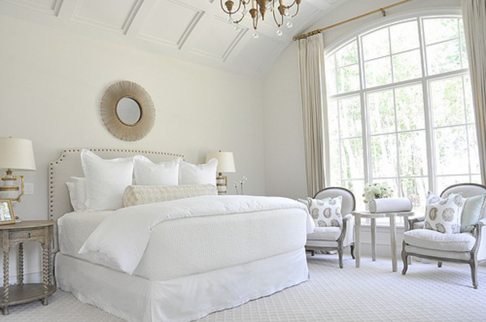 Interior White Bedroom Decorating decorating bedrooms with white walls embrace white