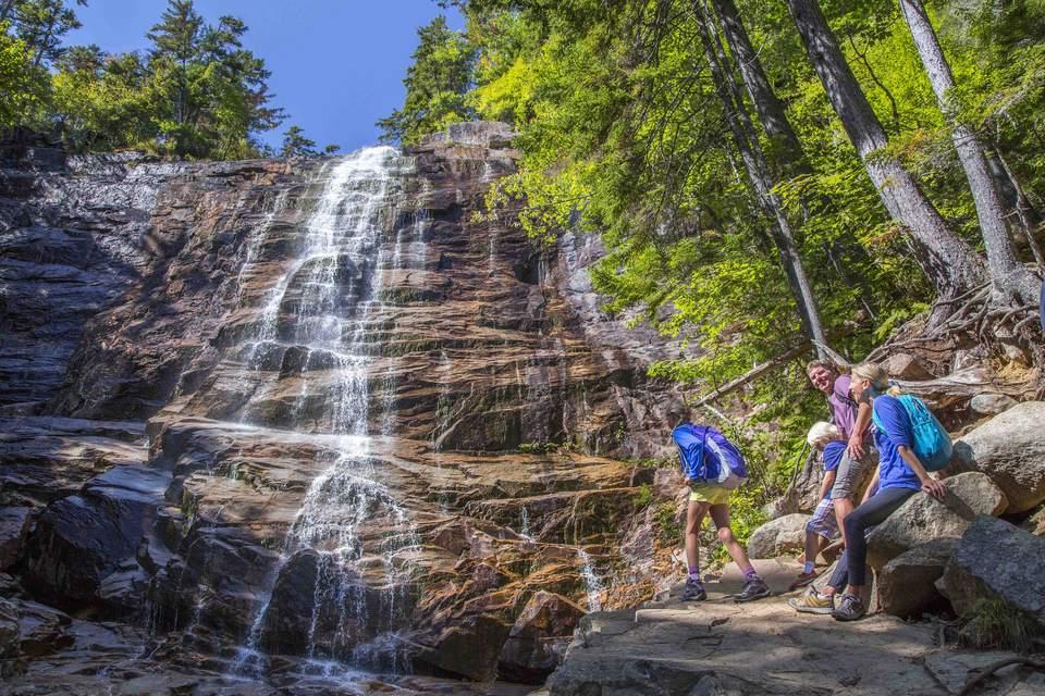 Arethusa Falls New Hampshire Waterfall